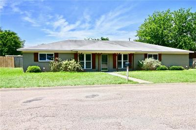Robinson Single Family Home For Sale: 1004 W Elizabeth Drive