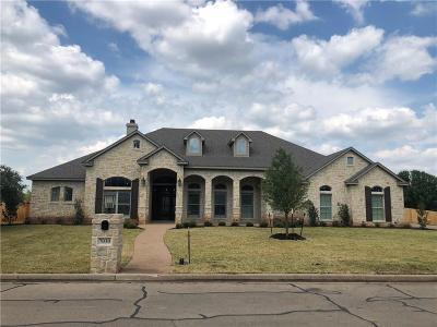 McGregor Single Family Home For Sale: 7030 Ledge Stone Drive