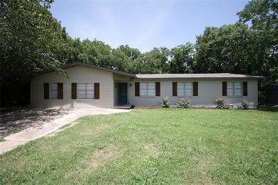 Robinson Single Family Home For Sale: 1007 N Betsy Drive