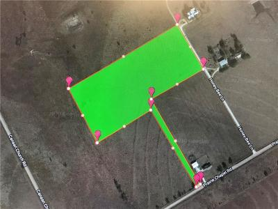 Crawford Residential Lots & Land For Sale: Tbd Prairie Chapel Road