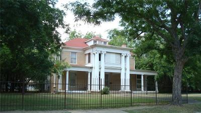 Marlin Single Family Home For Sale: 703 Capps Street