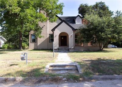 Marlin Single Family Home For Sale: 525 Chambers Street
