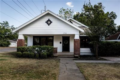 Waco Single Family Home For Sale: 2700 Ethel Avenue