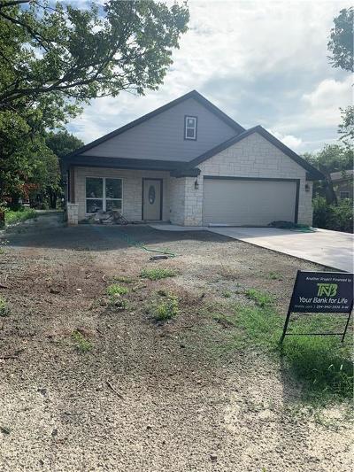 McGregor Single Family Home For Sale: 112 Garfield Street