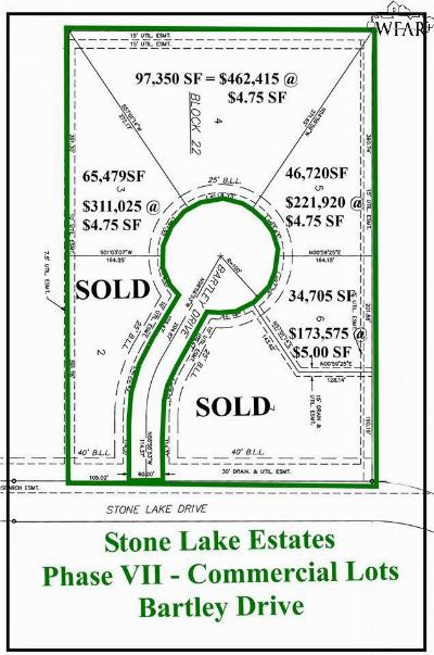 Wichita Falls Residential Lots & Land For Sale: 3 Bartley Drive
