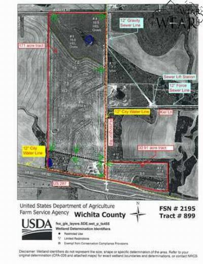 Wichita Falls Residential Lots & Land For Sale: Hwy 287