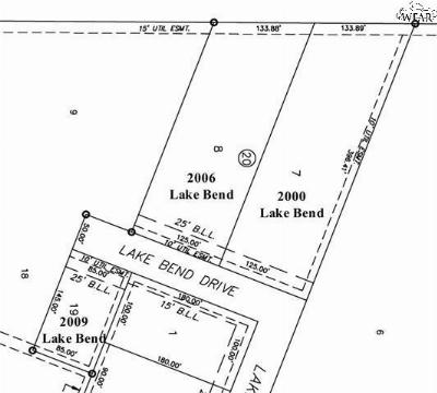 Wichita County Residential Lots & Land For Sale: 2009 Lake Bend Drive