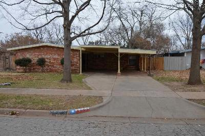 Wichita Falls Single Family Home For Sale: 4803 Hollandale Avenue