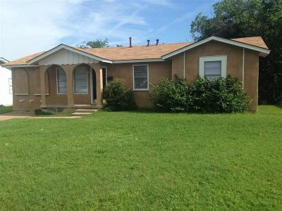 Wichita Falls Single Family Home For Sale: 1226 Bandera Boulevard