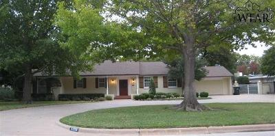 Wichita County Single Family Home For Sale: 3209 Martin Boulevard