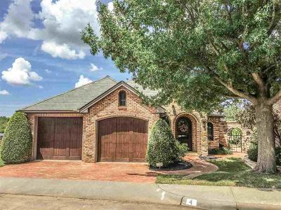 wichita falls Single Family Home For Sale: 4 Chateau Court