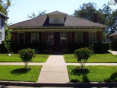 Wichita Falls Multi Family Home For Sale: 1719 Elizabeth Avenue