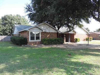 Burkburnett Single Family Home For Sale: 1415 Cardinal Lane