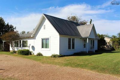Wichita Falls Single Family Home For Sale: 1928 Windthorst Road