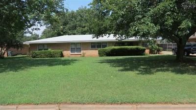 Wichita Falls Multi Family Home Active W/Option Contract: 20 Sara Sue Lane