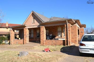 Wichita Falls Multi Family Home For Sale: 705 Warford Street