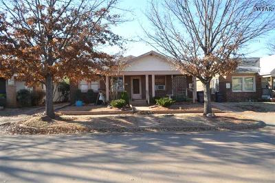 Wichita Falls Multi Family Home For Sale: 706 Warford Street