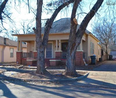 Wichita Falls Multi Family Home For Sale: 710 Warford Street