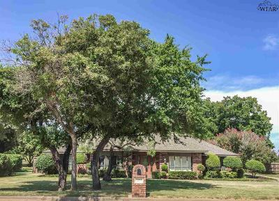 Iowa Park Single Family Home Active-Contingency: 3260 Horseshoe Bend Estates