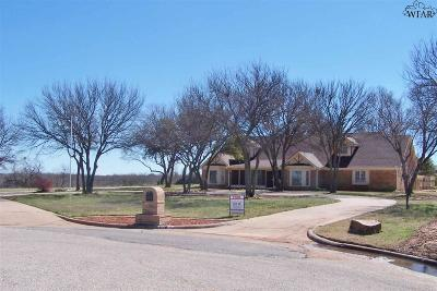 Wichita Falls Single Family Home For Sale: 5101 Whispering Creek Lane