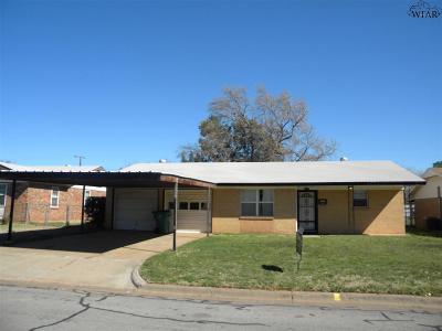 Burkburnett Single Family Home For Sale: 1309 Shady Lane