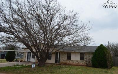 Archer City Single Family Home For Sale: 302 S Rose Street
