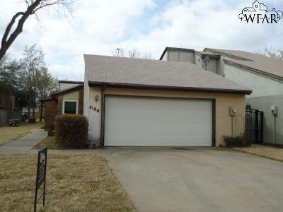 Wichita Falls Single Family Home For Sale: 4106 Picasso Drive
