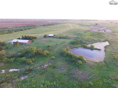 Wichita Falls Residential Lots & Land Active W/Option Contract: 7996 Clay Road