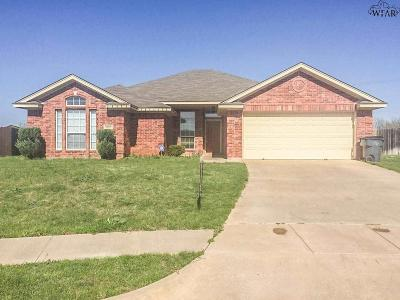 Wichita Falls Single Family Home For Sale: 4802 Libby Drive