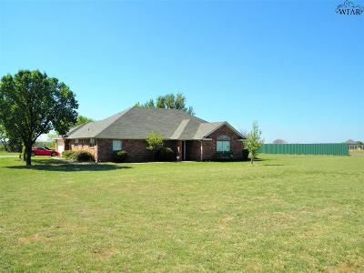 Iowa Park Single Family Home For Sale: 3179 Fm 368