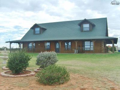 Burkburnett Single Family Home For Sale: 11531 N Fm 368