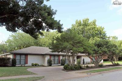 Wichita Falls Single Family Home For Sale: 2401 Essex Drive