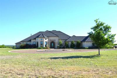 Archer County Single Family Home For Sale: 15830 S Fm 368
