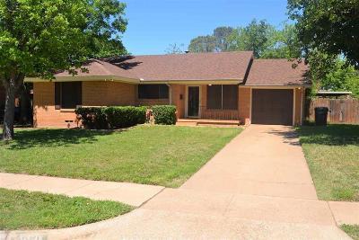 Wichita Falls Single Family Home For Sale: 4810 Earl Street