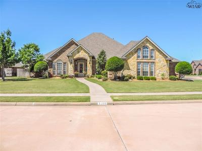 Wichita Falls Single Family Home For Sale: 5100 Lake Wellington Parkway