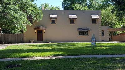Wichita Falls Single Family Home For Sale: 2107 Berkeley Drive