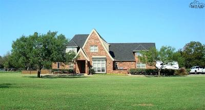 Wichita Falls Single Family Home For Sale: 1706 Wranglers Retreat