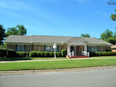 Burkburnett Single Family Home Active-Contingency: 711 Sunset Drive