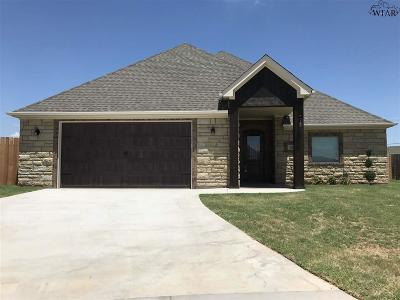 Wichita County Single Family Home For Sale: 4146 Candlewood Circle