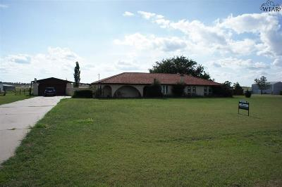Wichita Falls Single Family Home For Sale: 8129 Carriage Lane