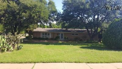 Wichita Falls Single Family Home For Sale: 3212 Seymour Road