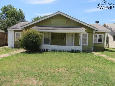 Wichita Falls Multi Family Home For Sale: 1823 Collins Avenue