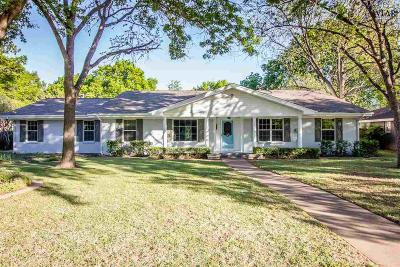 Single Family Home For Sale: 4403 Cedar Elm Lane