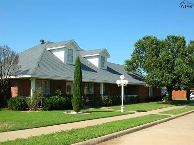 Wichita Falls Single Family Home For Sale: 4900 Belair Boulevard