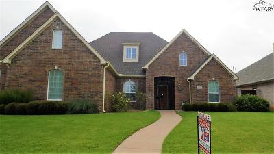 Wichita Falls Single Family Home For Sale: 4809 Bridge Creek Drive