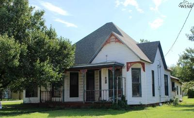 Clay County Single Family Home For Sale: 413 S Archer