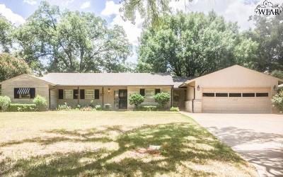 Wichita Falls Single Family Home For Sale: 2407 Fain Street