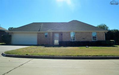 Burkburnett Single Family Home For Sale: 508 Horseshoe Lane