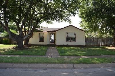 Wichita Falls Single Family Home For Sale: 4223 Faith Road