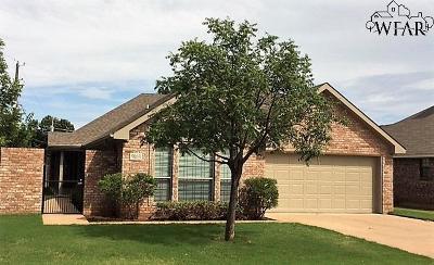 Wichita Falls Single Family Home For Sale: 5003 Pawnee Pathway